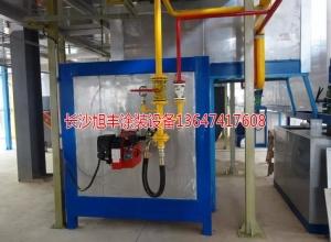 固化烘道燃气加热装置